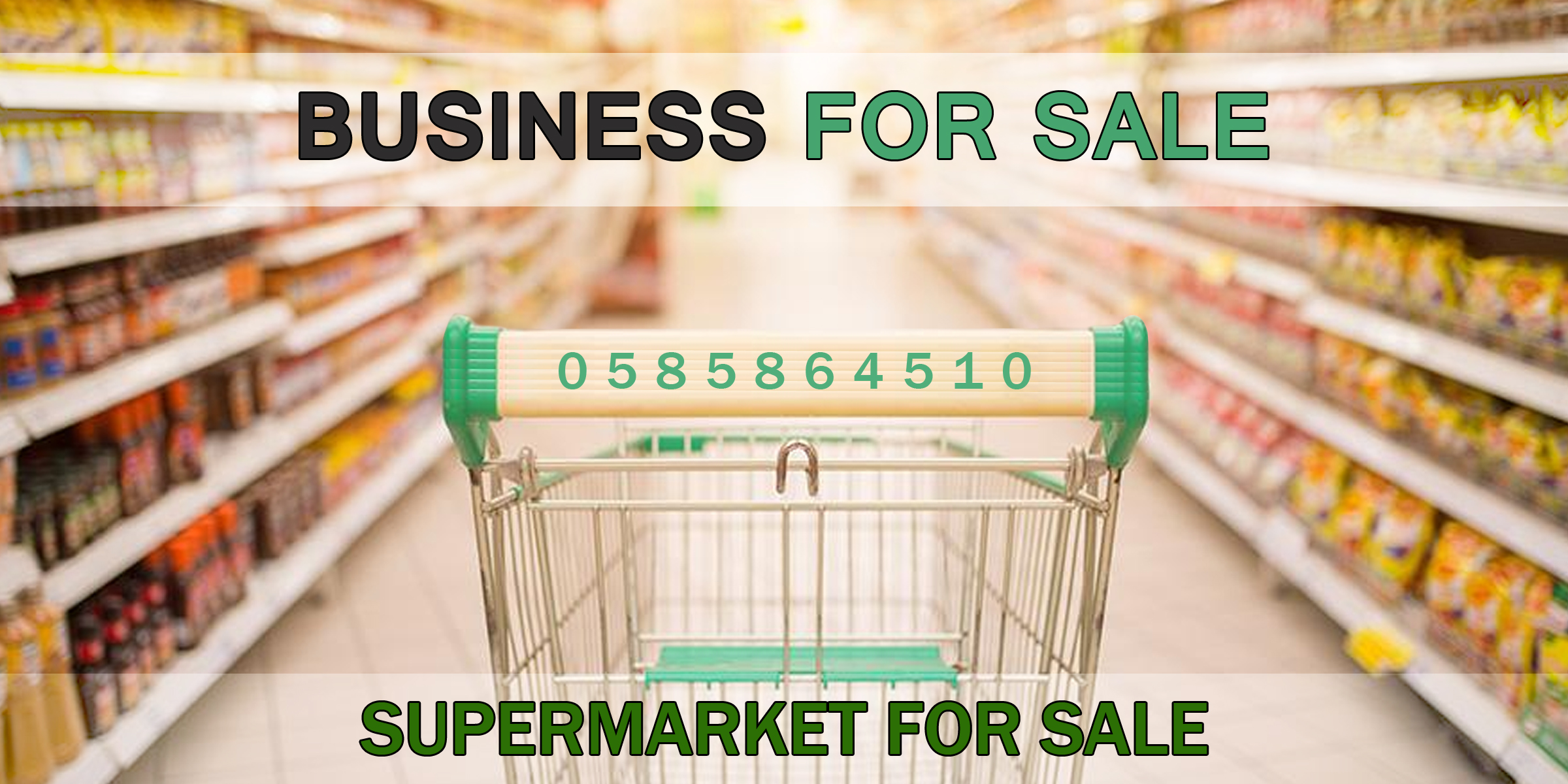 Supermarket for SALE in BUSINESS BAY
